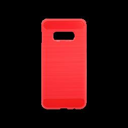 Samsung Galaxy S10e - Gumiran ovitek (TPU) - rdeč A-Type