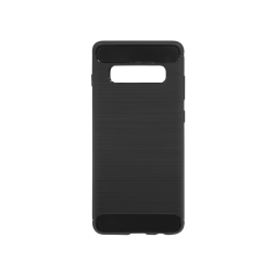 Samsung Galaxy S10 - Gumiran ovitek (TPU) - črn A-Type