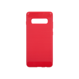 Samsung Galaxy S10 - Gumiran ovitek (TPU) - rdeč A-Type