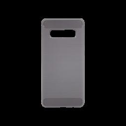 Samsung Galaxy S10 - Gumiran ovitek (TPU) - siv A-Type