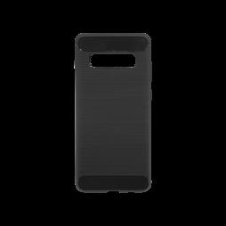 Samsung Galaxy S10+ - Gumiran ovitek (TPU) - črn A-Type