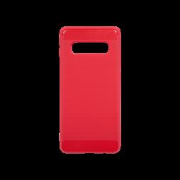 Samsung Galaxy S10+ - Gumiran ovitek (TPU) - rdeč A-Type