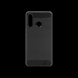 Huawei P30 Lite - Gumiran ovitek (TPU) - črn A-Type