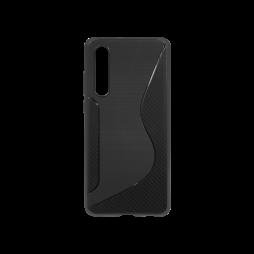Huawei P30 - Gumiran ovitek (TPU) - črn CS-Type