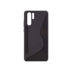 Huawei P30 Pro - Gumiran ovitek (TPU) - črn CS-Type