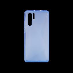 Huawei P30 Pro - Gumiran ovitek (TPU) - modro-prosojen CS-Type