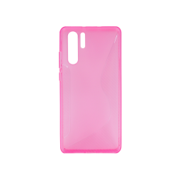 Huawei P30 Pro - Gumiran ovitek (TPU) - roza-prosojen CS-Type