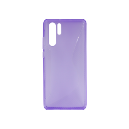 Huawei P30 Pro - Gumiran ovitek (TPU) - vijolično-prosojen CS-Type