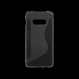 Samsung Galaxy S10e - Gumiran ovitek (TPU) - črn CS-Type