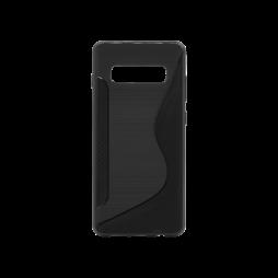 Samsung Galaxy S10 - Gumiran ovitek (TPU) - črn CS-Type