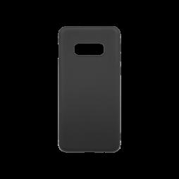Samsung Galaxy S10e - Gumiran ovitek (TPU) - črn MATT