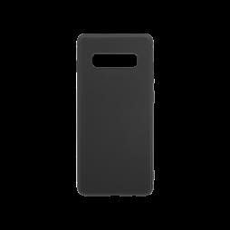 Samsung Galaxy S10 - Gumiran ovitek (TPU) - črn MATT