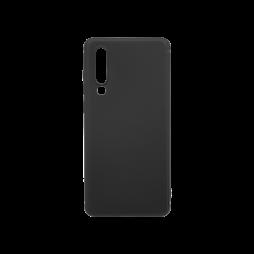Huawei P30 - Gumiran ovitek (TPU) - črn MATT