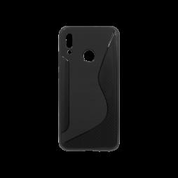 Huawei P Smart (2019)/Honor 10 Lite - Gumiran ovitek (TPU) - črn CS-Type