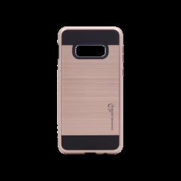 Samsung Galaxy S10e - Gumiran ovitek (ARM-01) - roza-zlat