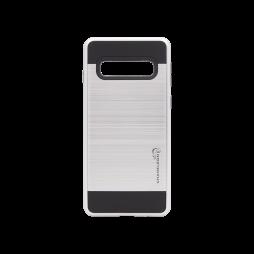 Samsung Galaxy S10 - Gumiran ovitek (ARM-01) - srebrn