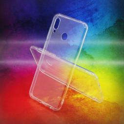 Huawei Honor Play - Gumiran ovitek (TPUA) - prosojen