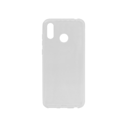 Huawei Honor Play - Gumiran ovitek (TPU) - belo-prosojen svetleč