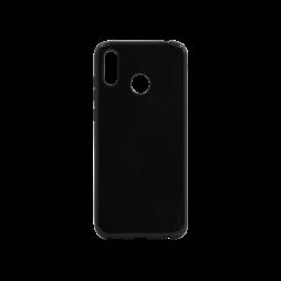 Huawei Honor Play - Gumiran ovitek (TPU) - črn svetleč