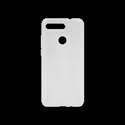 Huawei Honor View 20 - Gumiran ovitek (TPU) - belo-prosojen svetleč