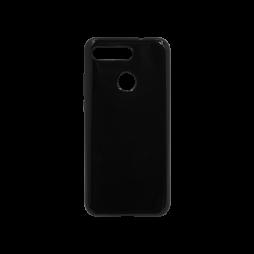 Huawei Honor View 20 - Gumiran ovitek (TPU) - črn svetleč