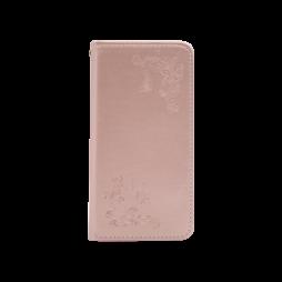 Samsung Galaxy S10e - Preklopna torbica (WLGO-Butterfly) - roza-zlata