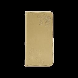 Samsung Galaxy S10e - Preklopna torbica (WLGO-Butterfly) - zlata