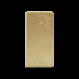 Samsung Galaxy S10 - Preklopna torbica (WLGO-Butterfly) - zlata