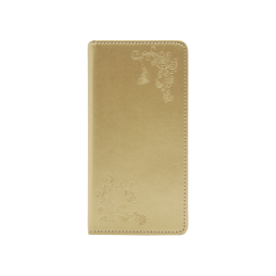 Samsung Galaxy S10+ - Preklopna torbica (WLGO-Butterfly) - zlata
