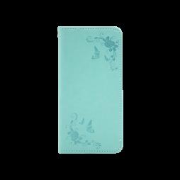 Huawei P30 - Preklopna torbica (WLGO-Butterfly) - zelena
