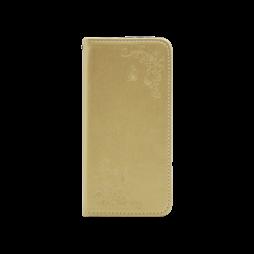 Huawei P30 - Preklopna torbica (WLGO-Butterfly) - zlata