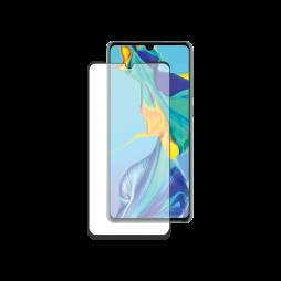 Huawei P30 Pro - Zaščitno steklo Premium (0,33) - case-friendly, črno