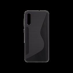 Samsung Galaxy A50/A30s/A50s - Gumiran ovitek (TPU) - črn CS-Type