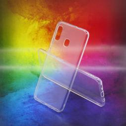 Samsung Galaxy A20 / A30 - Gumiran ovitek (TPUA) - prosojen