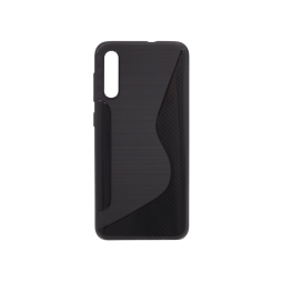 Samsung Galaxy A70 - Gumiran ovitek (TPU) - črn CS-Type