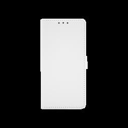 Samsung Galaxy A20 / A30 - Preklopna torbica (WLG) - bela