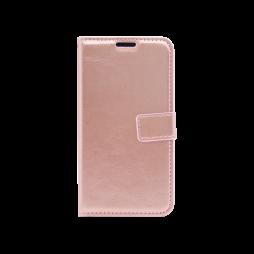 Samsung Galaxy A40 - Preklopna torbica (WLC) - roza-zlata