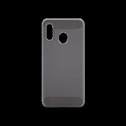 Samsung Galaxy A20 / A30 - Gumiran ovitek (TPU) - siv A-Type