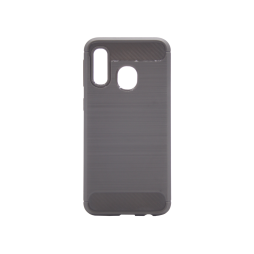 Samsung Galaxy A40 - Gumiran ovitek (TPU) - siv A-Type