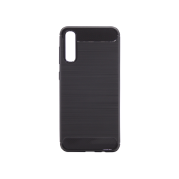 Samsung Galaxy A50 - Gumiran ovitek (TPU) - črn A-Type