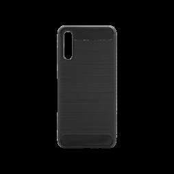 Samsung Galaxy A70 - Gumiran ovitek (TPU) - črn A-Type