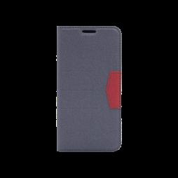 Samsung Galaxy A20 / A30 - Preklopna torbica (47G) - črna