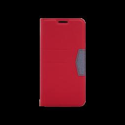 Samsung Galaxy A20 / A30 - Preklopna torbica (47G) - rdeča