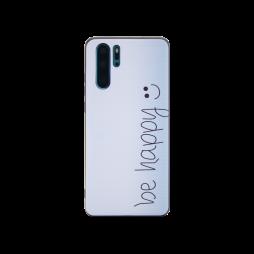 Huawei P30 Pro - Gumiran ovitek (TPUP) - Be Happy