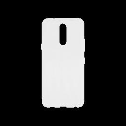 LG K40 - Gumiran ovitek (TPU) - belo-prosojen svetleč