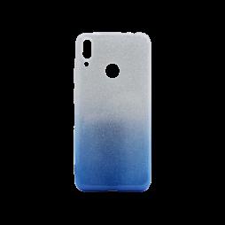 Huawei Y7 Prime (2019) / Y7 (2019) - Gumiran ovitek (TPUB) - modra