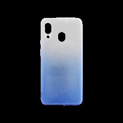 Samsung Galaxy A20 / A30 - Gumiran ovitek (TPUB) - modra