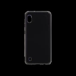 Samsung Galaxy A10 - Gumiran ovitek (TPU) - črn svetleč