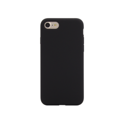 Apple iPhone 7/8/SE (2020) - Silikonski ovitek (liquid silicone) - Soft - Black