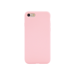 Apple iPhone 7/8 - Silikonski ovitek (liquid silicone) - Soft - Candy Pink
